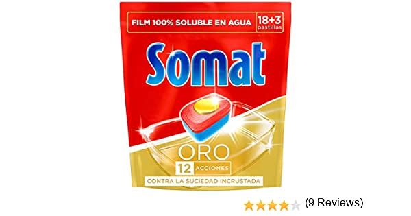 Somat 10 Oro - Detergente multifunción en pastillas para ...