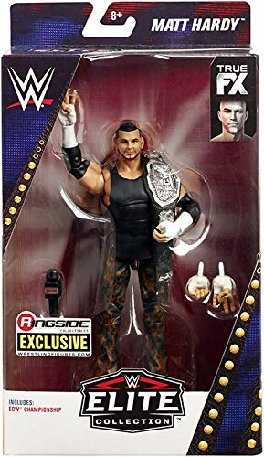 Amazoncom Ringside Ecw Matt Hardy Wwe Elite Exclusive Mattel Toy