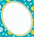 Bubbly Blues Notepad, , 1483803163