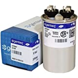 CAP125000370RPS - 12.5 uf MFD 370 Volt VAC - Goodman Round Run Capacitor Upgrade