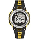 Welcomeuni Waterproof Children Boys Digital LED Sports Alarm Date Watch