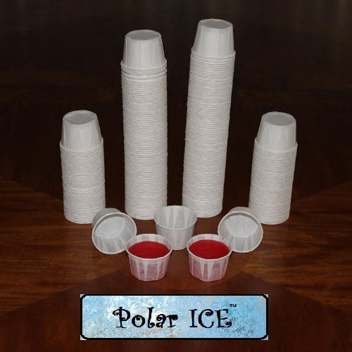 Polar Ice Jello Shot Souffle Portion Cups, 1.25-Ounce, Package of 250 ()