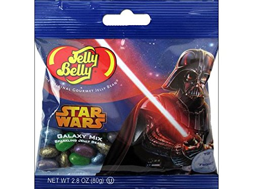 Jelly Belly Star Wars Sparkling Jelly Bean 2.8oz Galaxy Mix (Star Wars Candy)