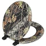 Magnolia Camouflage Mossy Oak Break Up Pattern Toilet Seat