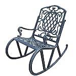 Oakland Living Mississippi Cast Aluminum Rocking Chair