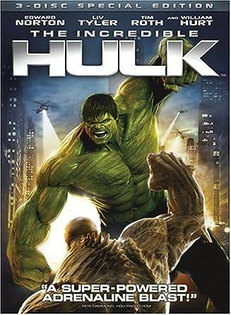 6632bb85830c Amazon.com: The Incredible Hulk (Three-Disc Special Edition): Edward ...