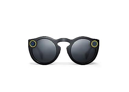 aaf4e2c34177 Amazon.com  2016 Spectacles - Sunglasses for Snapchat (Black ...
