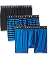 BOSS HUGO BOSS Men's 3-Pack Cotton Boxer Brief