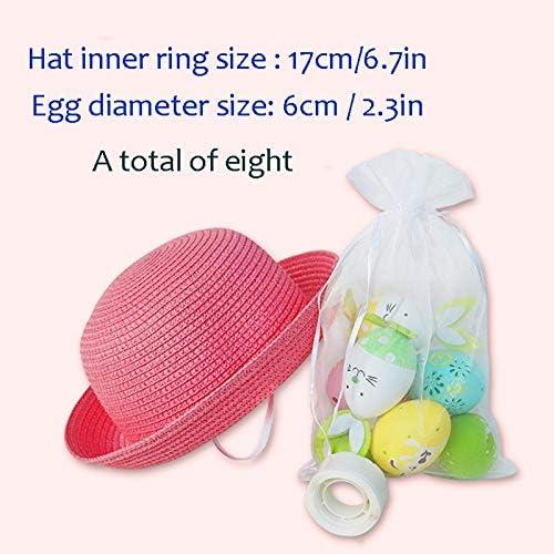 NUOVO Cappello per Bambini Pasqua in colori naturali /& BLU