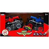 2PC PULL FRICTION REV TRUCKS 360 DEGREE SPIN ACTION 2 ASSORTED, Case of 18