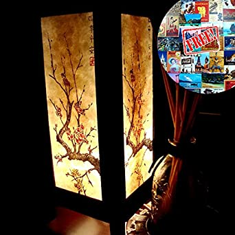 Japanese Lamp Shades For Table Large Night Light Bulbs Bedroom Accessories Home Decor Living Room