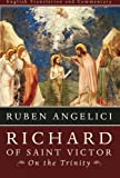 Richard of Saint Victor, on the Trinity, Ruben Angelici, 1610970128