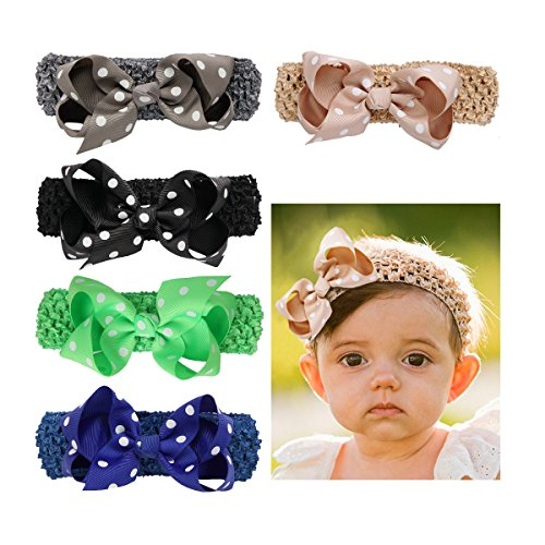Romperinbox Elastice Headbands Newborn Toddler