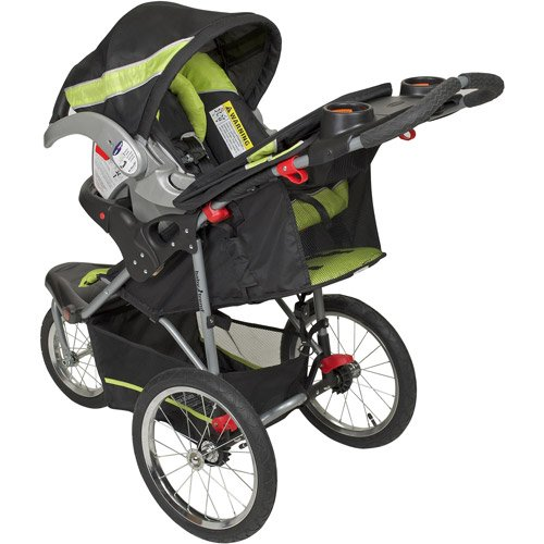 Baby Trend Expedition Travel System with Stroller and Car Seat, Electric Lime by Baby Trend (Image #2)