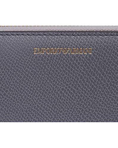 Wallet Armani Zip Grey Around Emporio Ptwdxw