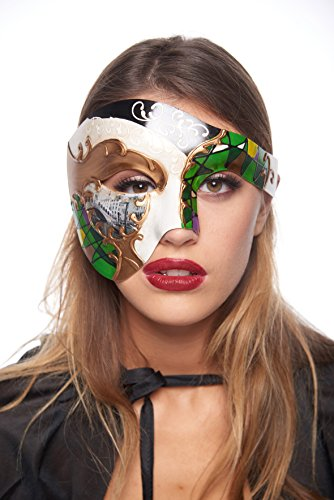 Gondola Half-Face Mask (Unisex; One Size Fits Most; Green)