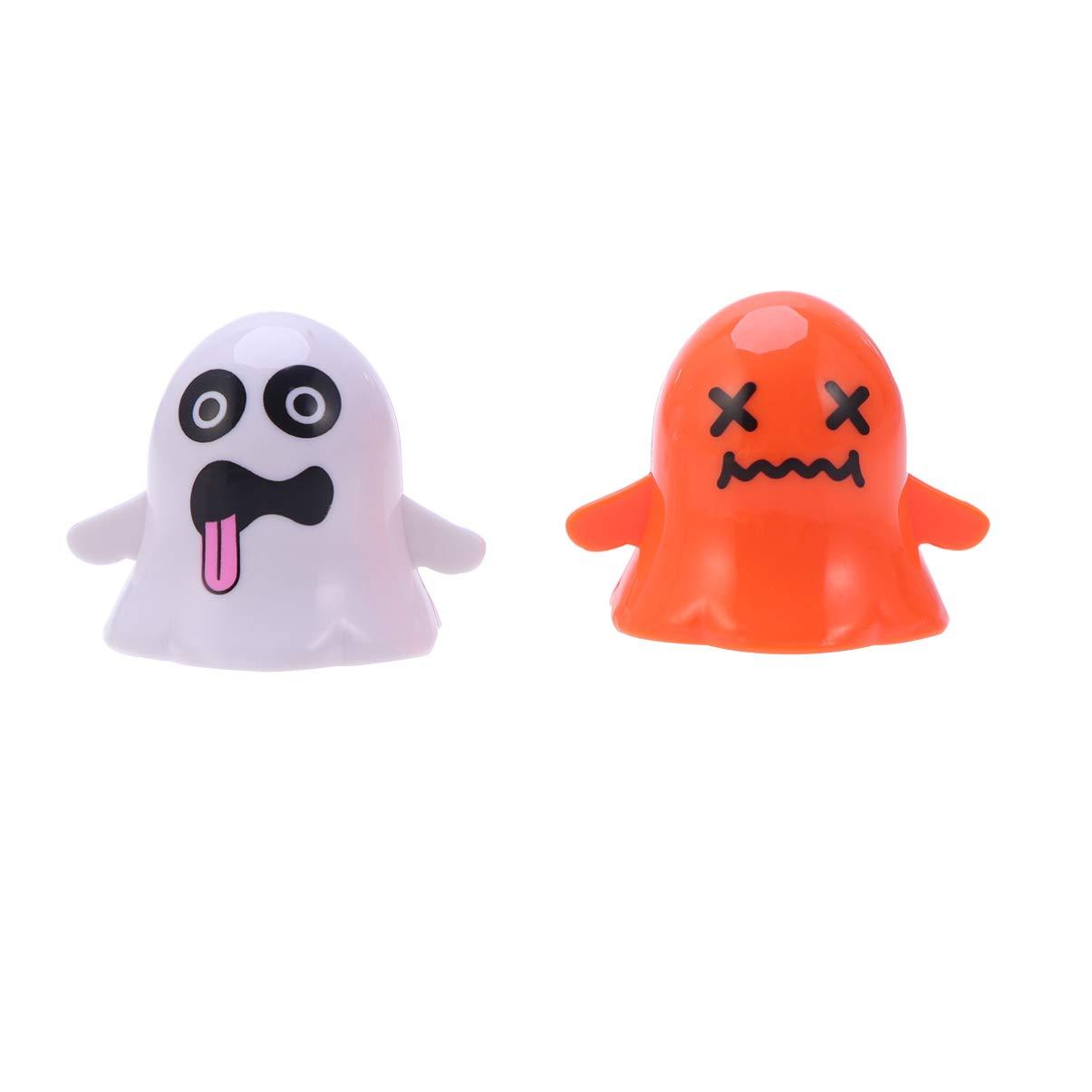 Modello Casuale Amosfun Halloween Wind up Giocattoli Fantasma Teschio Orologio a Piedi Puntelli per Feste Forniture per Bambini Adulti 2 Pezzi