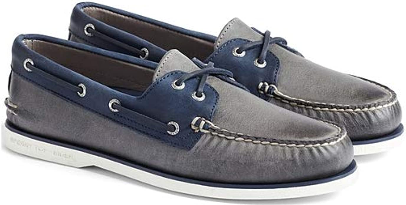 navy sperry boat shoes