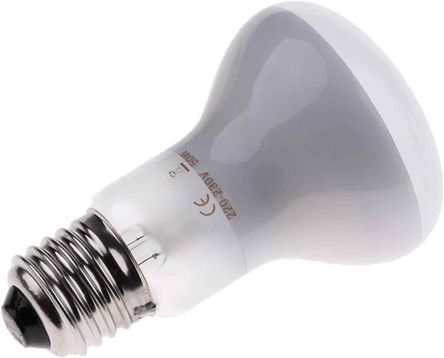 D DOLITY Pet Reptile Heat Lamp Lightbulb Infrared Heater Pig Sheep Breeding Heating Bulb 75W
