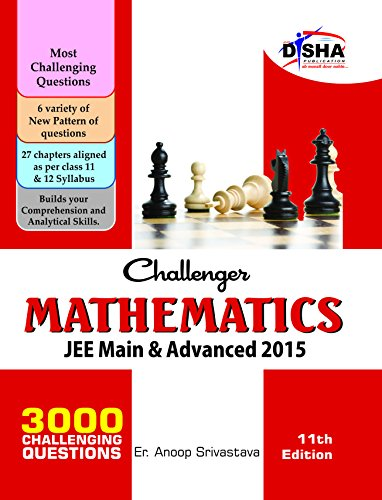 Challenger Mathematics for JEE Main & Advanced (11th edition)