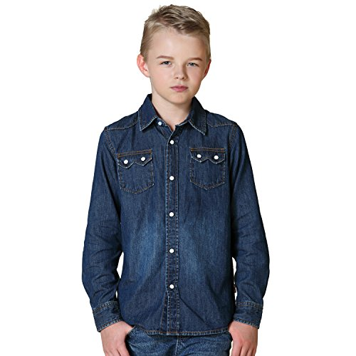 Leo&Lily Boys' Big LLB269-12-Blue-MFN, Blue, ()