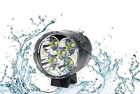 Wii-Fire Luce Faro Toria Testa luci per Biciclette Bici CREE XM-L U2 Fanale Lampada LED Frontale della Bicicletta Bici