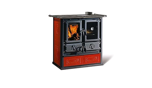 Estufa de La cocina La Nordica Estufa de leña Rosetta 6 kW: Amazon.es: Bricolaje y herramientas