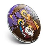 GRAPHICS & MORE Nativity Scene Baby Jesus Mary