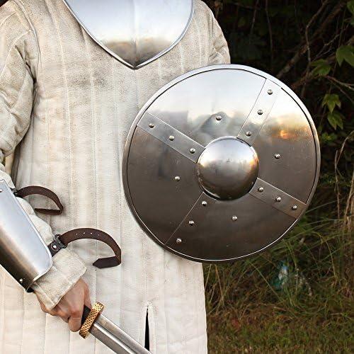 Medieval Buckler Shield Larp Armour Knight Shield Battle Warrior Buckler Shield