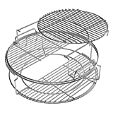 Big Green Egg 3 Tier 5 Piece EGGspander Kit - Large Egg