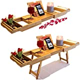 SOHOtopia Bamboo Portable Lap Desk   Bed Tray   Bathtub Caddy   TV