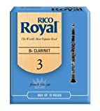 Rico Royal Bb Clarinet Reeds, Strength 3.0, 10-pack, Best Gadgets