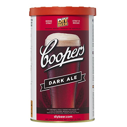 Coopers DIY Beer Dark Ale Homebrewing Craft Beer Brewing Extract (Kit Extract Ale)