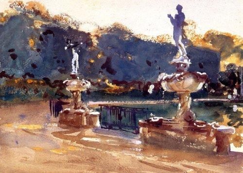 Artisoo Boboli Gardens油彩画Reproduction–送料サイズ: 30x 21インチ–John Singer Sargentの商品画像