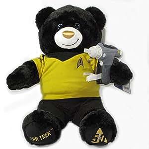 Build-a-Bear Workshop Commander Star Trek Teddy Bear with Star Trek Uniform, Star Trek Theme Song and FREE Phaser Gun