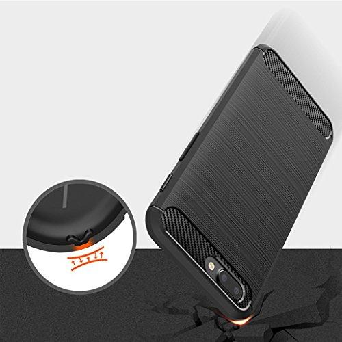 Funda OnePlus 5,Funda Fibra de carbono Alta Calidad Anti-Rasguño y Resistente Huellas Dactilares Totalmente Protectora Caso de Cuero Cover Case Adecuado para el OnePlus 5 A