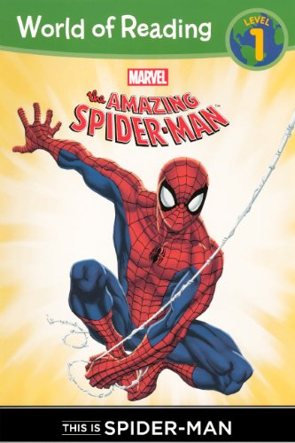 This Is Spider-Man (Turtleback School & Library Binding Edition) (World of Reading, Level 1)