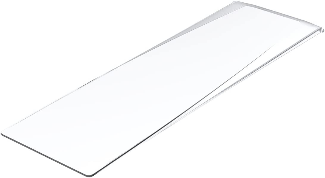 AKRO-MILS 36221 Clear Lid for 36220 Universal Hanging Nesting Shelf Bin - Pack of 10