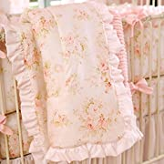 Carousel Designs Shabby Chenille 3-Piece Crib Bedding Set