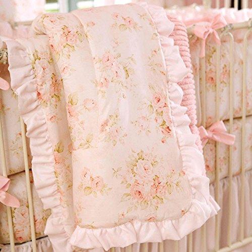 - Carousel Designs Shabby Chenille 3-Piece Crib Bedding Set