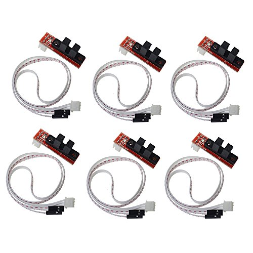 hesai cnc 3d printer mechanical optical limit switch endstop with cable for ramps 1 4 makerbot
