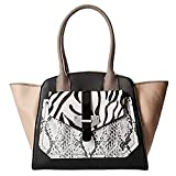 Guess Privy Tote (Black Multi)