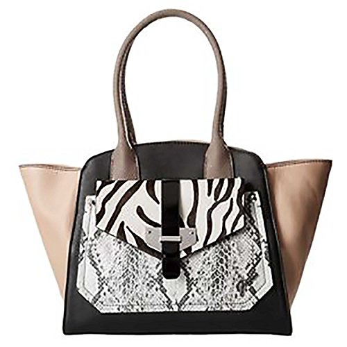 Guess Privy Tote (Black Multi) by GUESS