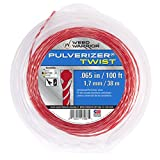 Weed Warrior 17066 Pulverizer Bi-Component Twist Trimmer Lines, 0.065' by 100'