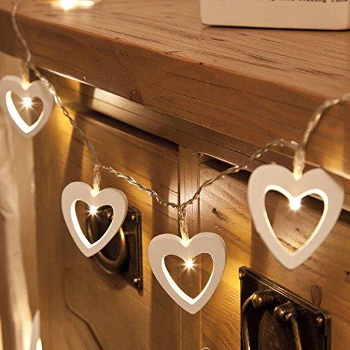 Wooden Heart Led Lights in Florida - 8
