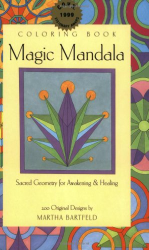 Magic Mandala Coloring Book by Mandalart Creations