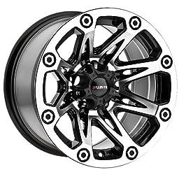 Ballistic Flash 522580555-27GBM 15x8 5x139.7 (5x5.5) -27mm Offset Black Wheel