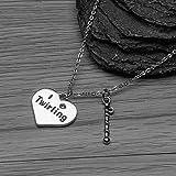 Twirling Charm Necklace- Twirling Jewelry - Baton