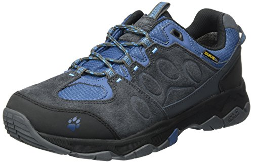 Jack Wolfskin Men's MTN Attack 5 Texapore Low M Hiking Boot, Ocean Wave, US Men's 10, 5 D US