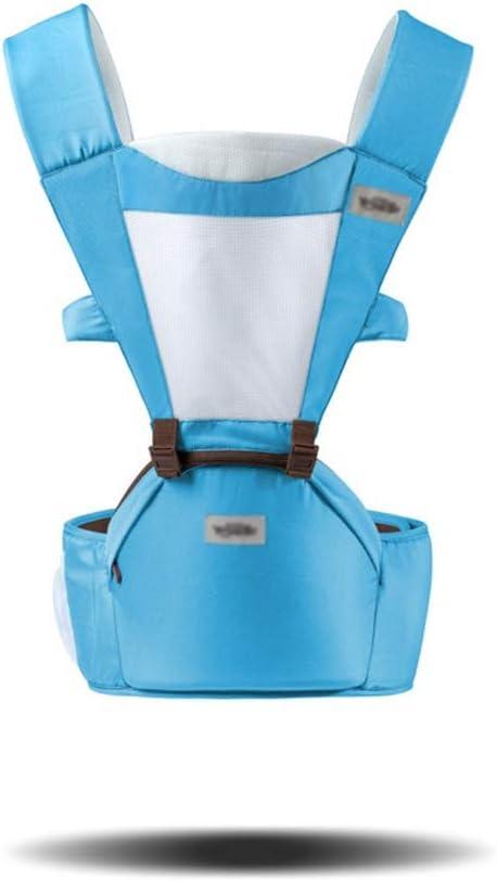 Danankan 抱っこする人間工学に基づいたラップベビーキャリア幼児と子供用スリングキャリー新生児は最大35ポンドまで新しいお父さんにも最適 (色 : 青) 青